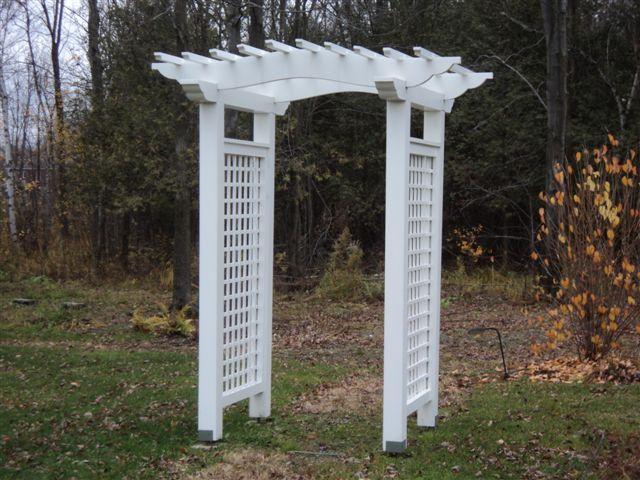 Tonnelle de jardin Trafalgar 40″ - Coupoles & Structures ...
